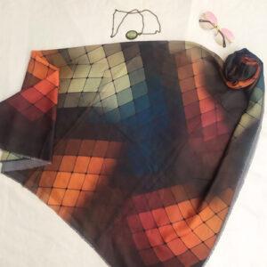 روسری نخی rgb330