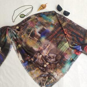 روسری نخی rgb332
